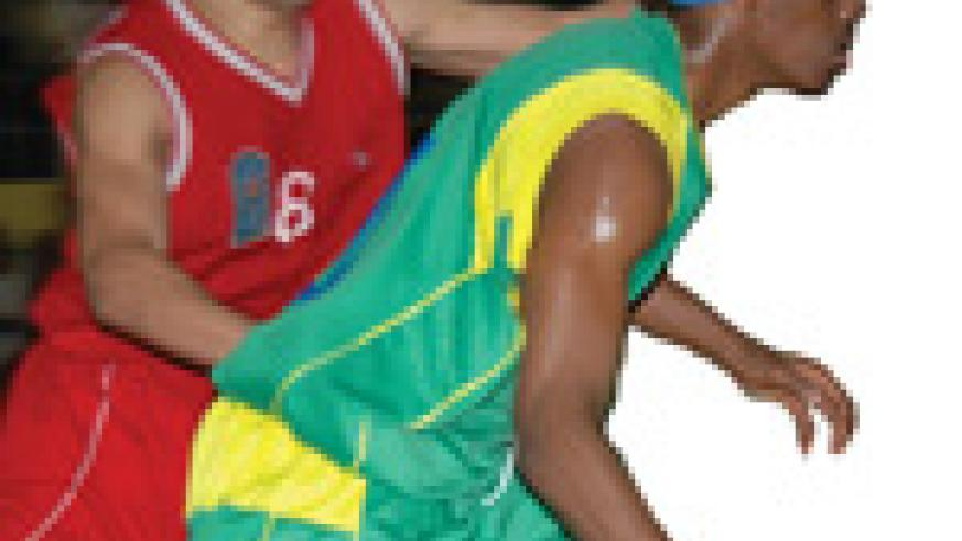 Hamza Ruhezamihigo in action for the national team against Egypt during the Zone V championship in 2007.He will be leading the team once again. (File photo).