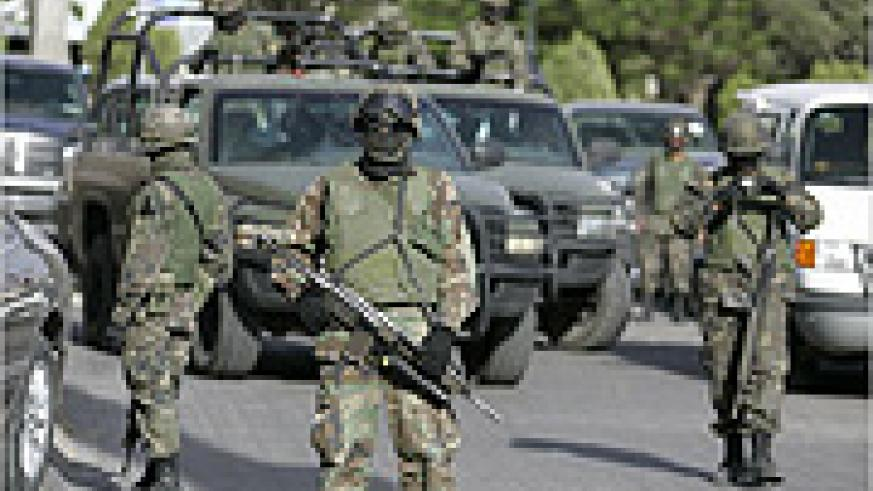 Armed troops have been brought to fight the increased violence on Mexico's streets
