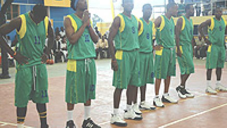 The national basketball team that finished second to Egypt in 2007. This year, Vaceslave has made five changes in the side. (File photo).