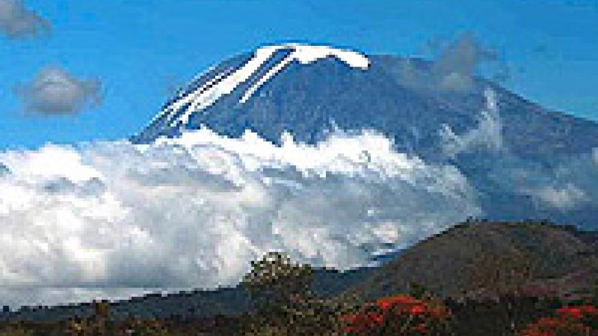 Kilimanjaro is a whopping 5,891m high.