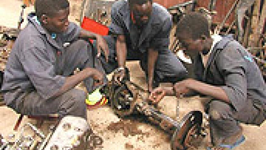 Vocational Training is extremely important if Rwanda is to develop.