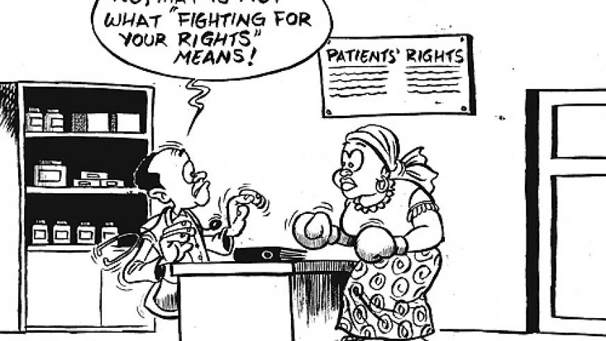 A Charter of Patients rights will ensure that Rwandans enjoy full rights to proper medical care at all health centres country-wide.