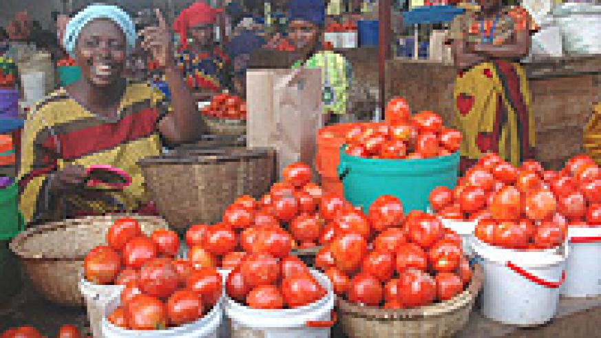 Women account for over 60 percent of Africa's food production.