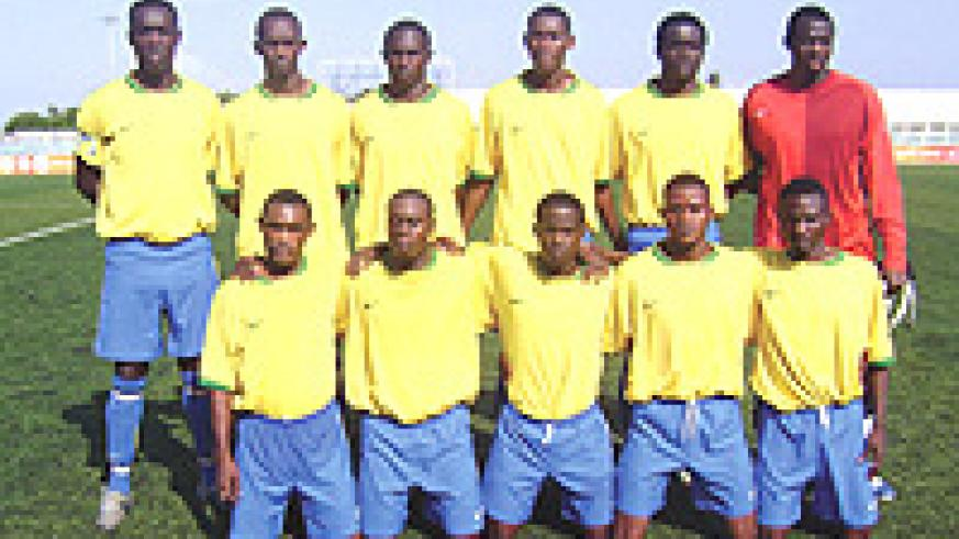 The Amavubi Stars team that going places with the new Rwanda.