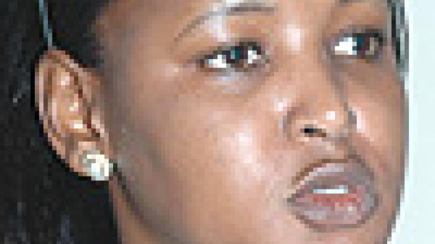 Rosemaary Mbabazi Mugisha, the Acting Director General Investment Promotion at RDB. (Photo/ G.Barya).