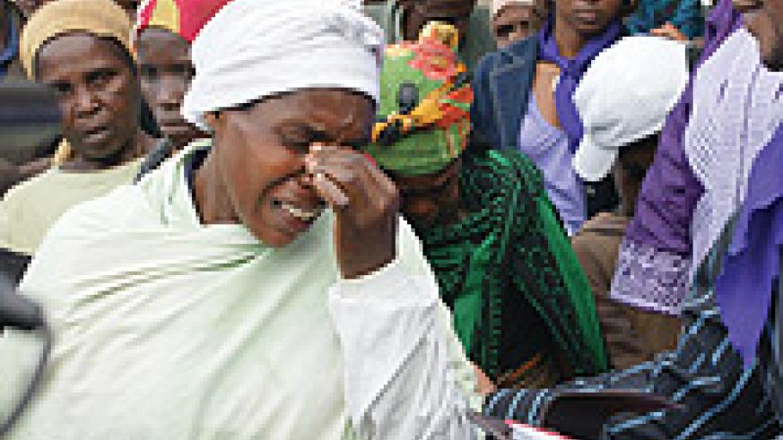 Nakore breaks down as she narrates her story for the first time. (Photo/ S. Nkurunziza).