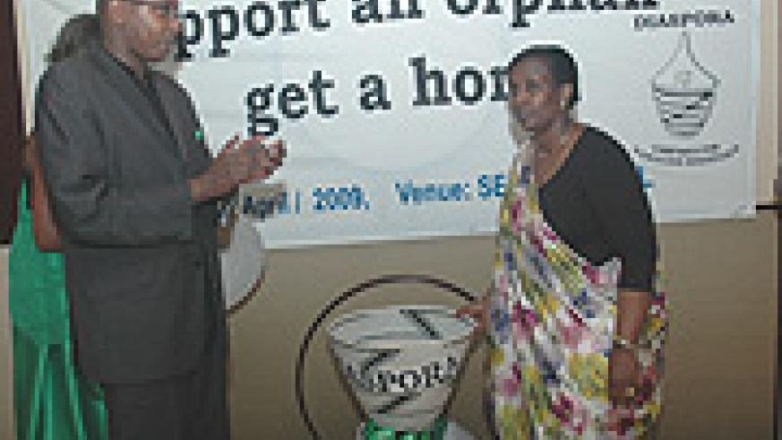 Foreign Affairs Minister  Rosemary Museminali launching the One Dollar Campaign earlier this month. (File/ Photo).