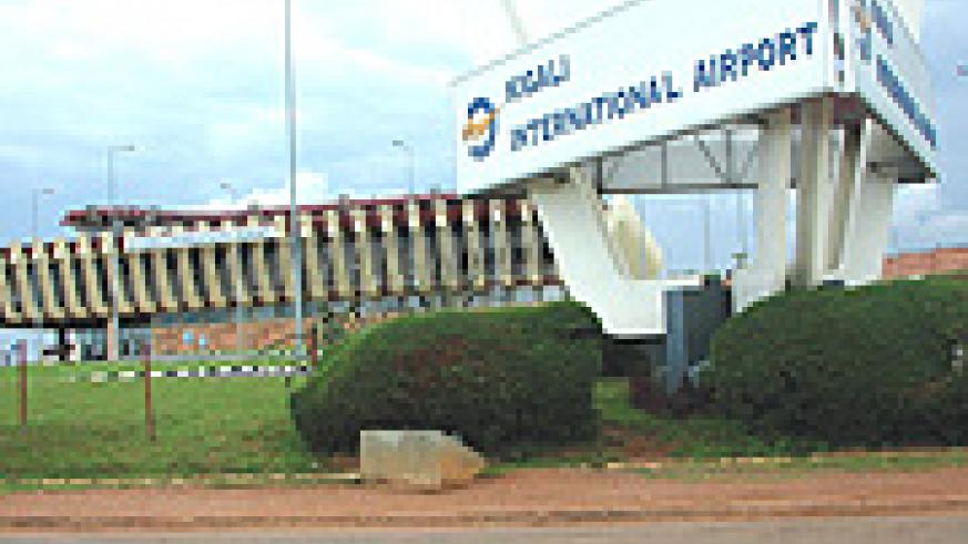 Kigali International Airport that will soon be given a new face. (File Photo).