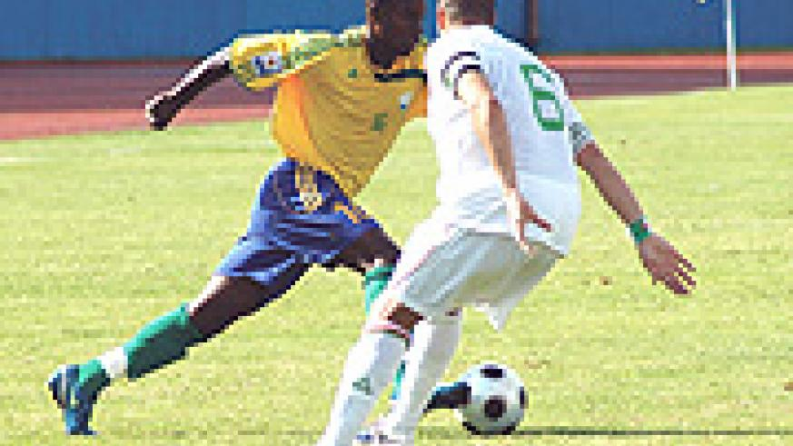 Attacking midfield king pin Eric Gasana (file photo)