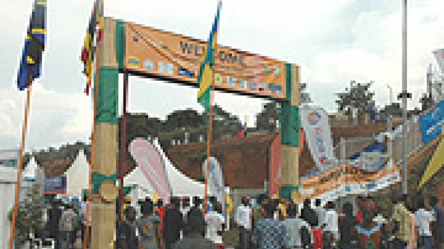 The make-shift expo grounds in Gikondo. PSF is looking at establishing a permanent state-of-the-art ground along the Kigali-Bugesera Highway. (File Photo).