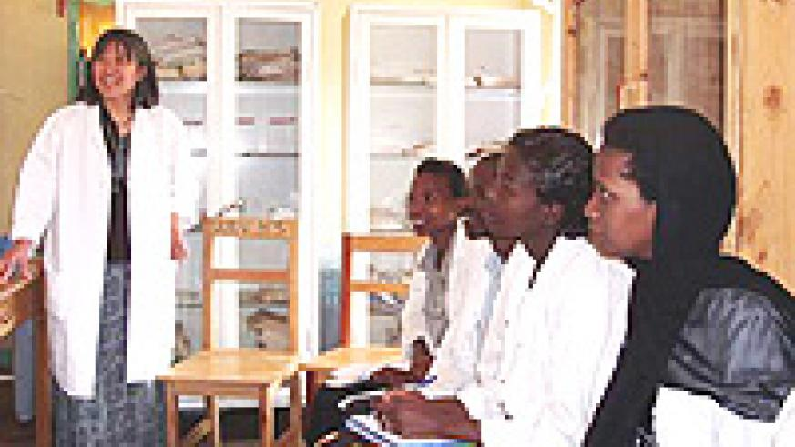 Teaching professional health workers about maternal and child health.