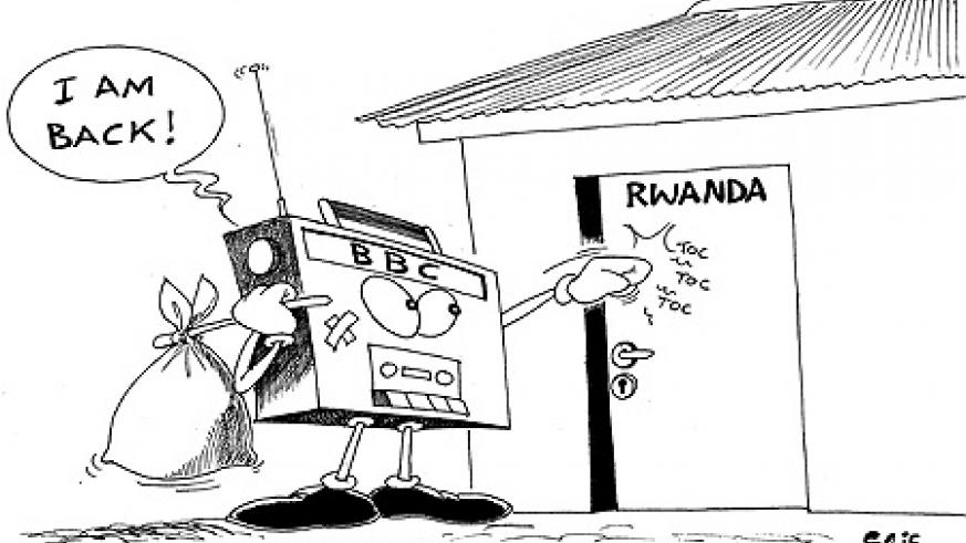The ministry of Information this week expressed its disappointment towards the BBC,s declarations that it will be  business as usual on radio's kinyarwanda programming.