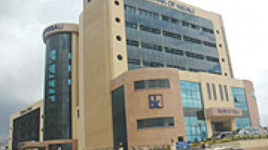 Bank of Kigali Headquaters  in Kigali City. The bank is one of those paying high interest rates.