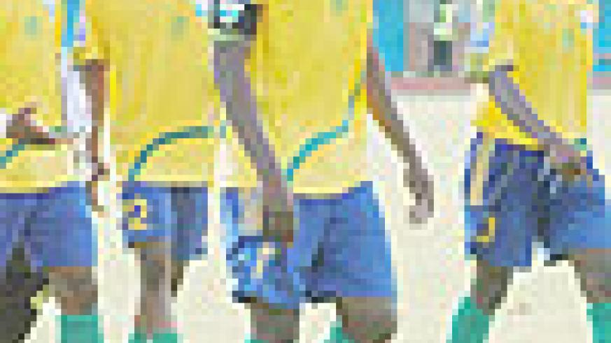Amavubi Skipper Olivier Karekezi has to inspire the team during the second phase of the third and final 2010 World/CAN qualification round. (File photo)