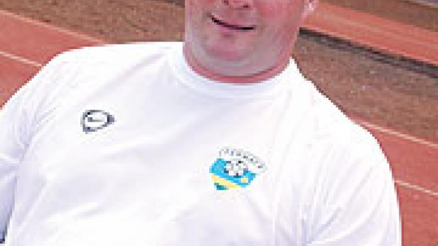 IN CHARGE; Micheal Weiss has the task of leading Rwanda's team to the Youth Championship.