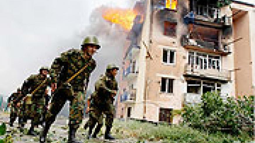 Fighting between Georgians and Russians last year wrought havoc in the Caucases