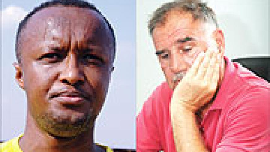 L-R:OLD GUARD: Jimmy Gatete is likely to feature prominently;UNDER PRESSURE: Tucak Branko