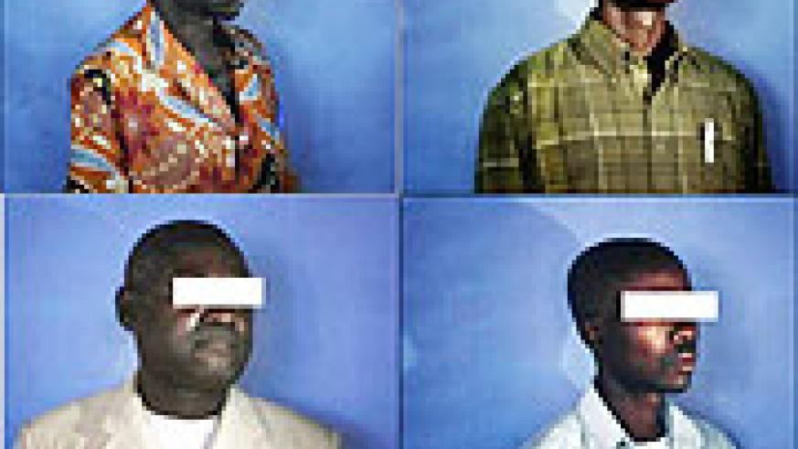 All are Congolese men who were recently raped and agreed to be photographed. (Photo / Jehad Nga for The New York Times)