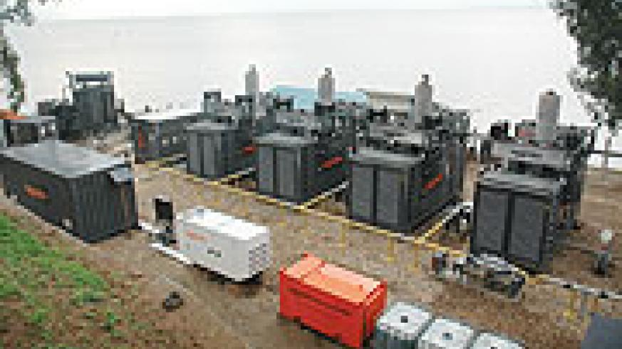 Methane gas processing machine that generate power which is channeled to national energy grid. (File Photo)