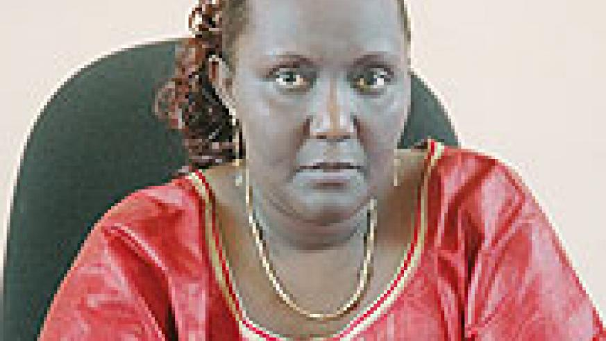 Gacaca jurisdiction Executive Secretary Domitille Mukantaganzwa. As the courts wind up, 27 women were convicted and sentenced over genocide in Western Province.