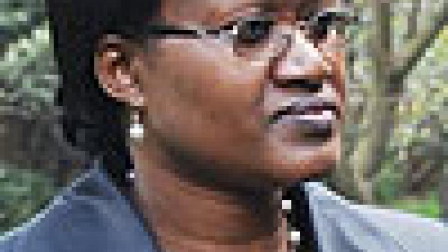CHANCES ARE HIGH:  Minister for the EAC Affairs Monique Mukaruliza