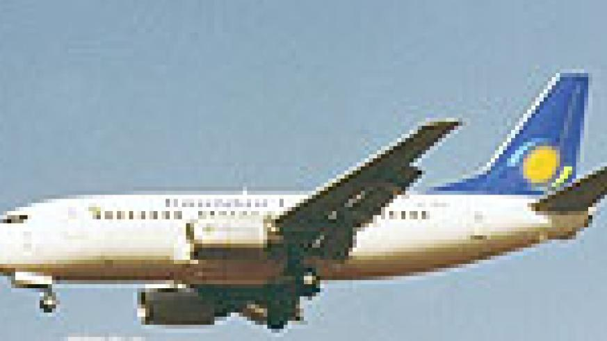Rwandair's boeing_737-5l9: Airline seeks to expand its presence across the continent (file photo)
