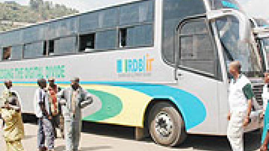 ON THE MOVE; One of the two models of ICT buses that have made an impact