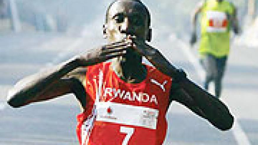 Disi was short of words after being named the athlete of the 2009 Francophone Games in Lebanon. (File Photo)