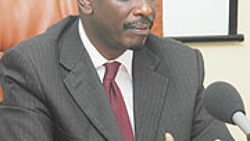 Health Minister Dr Richard Sezibera