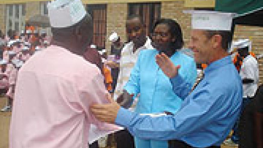 Inmates at Gitara Prison receive certificates after completing rehabilitation course. The course was organised by Criminon Africa last year.  File photo