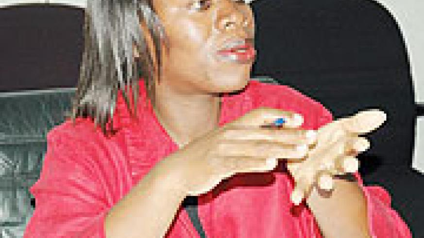 Hon. Monique Nsanzabaganwa, Minister of Trade and Industry (File Photo)