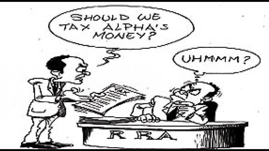 RRA ponders levying Alpha's prize money.