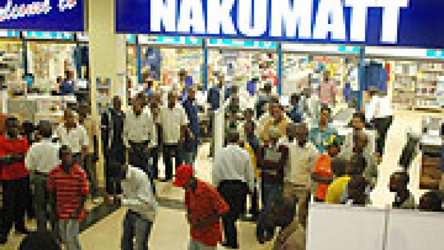 Nakumatt store in Kigali. (File photo)