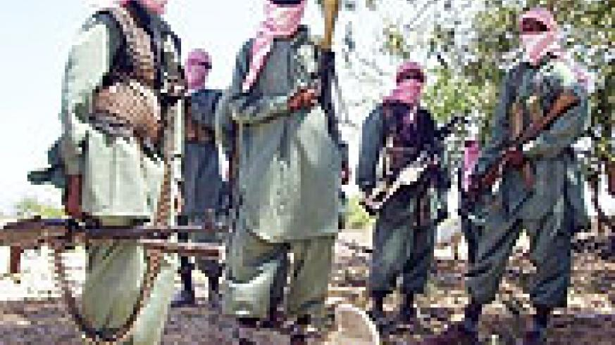 Al Shabab Islamic fighters in Somalia are attempting to overthrow the Somali government.