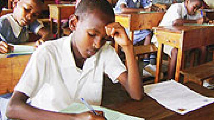 REAP WHAT YOU SOW; Primary leavers are slated to begin their Primary Leaving Examinations (PLE) across the country today.