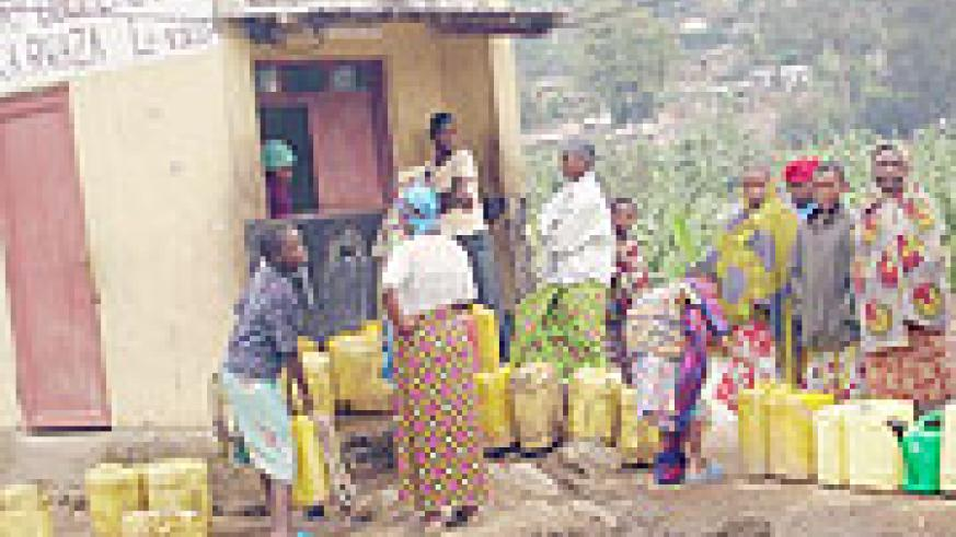 IN THE NEED OF PRECIOUS COMMODITY: Water has identified a number of areas that need urgent attention.