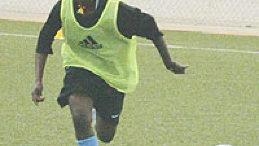 BIG BOOST: Uwamahirwe is back in the side after missing the first leg.