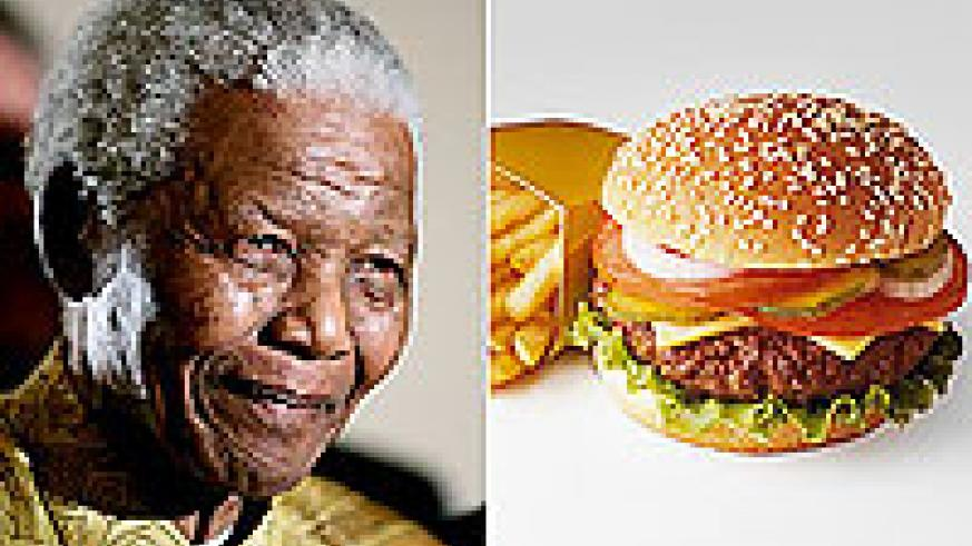 The issuse of the Nelson Mandela image is problematic.There is now a Mandela Burger.