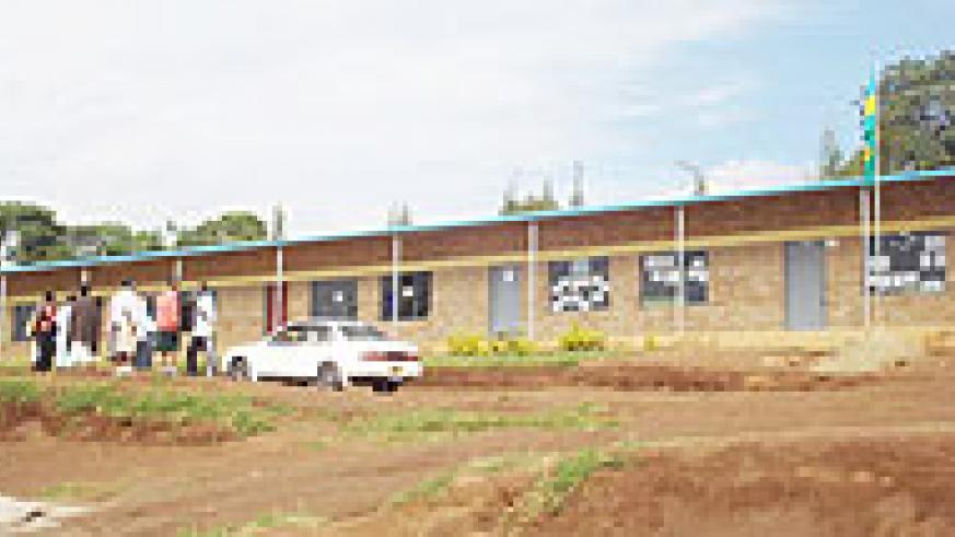 Gitarama school, one of the best performing schools in the district. (Photo: D. Sabiiti)