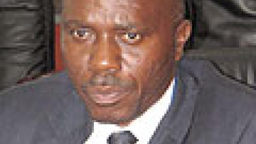Pierre Celestin Bumbakari, the Commissioner in charge of internal taxes