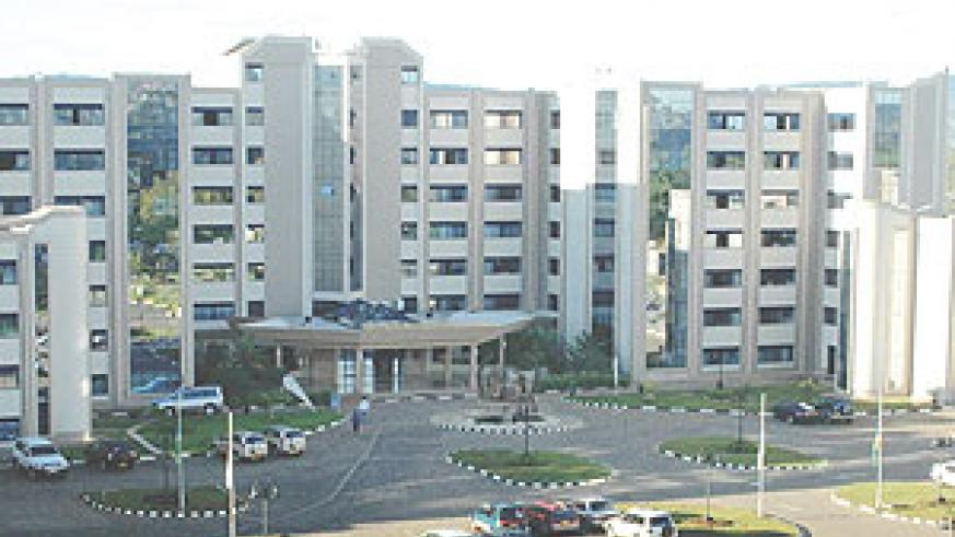Rwanda Revenue Authority headquarters. The tax body has been tipped to exceed its target despite cglobal financial crisis - Shortcut