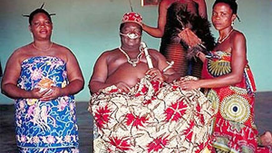 A West African man with his wives. The issue of polygamous marriages isnt simply a black and white issue.