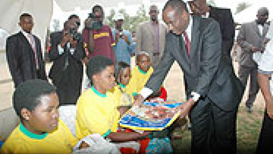 Health Minister Dr. Richard Sezibera. His ministry says that Swine Flu is now under control.