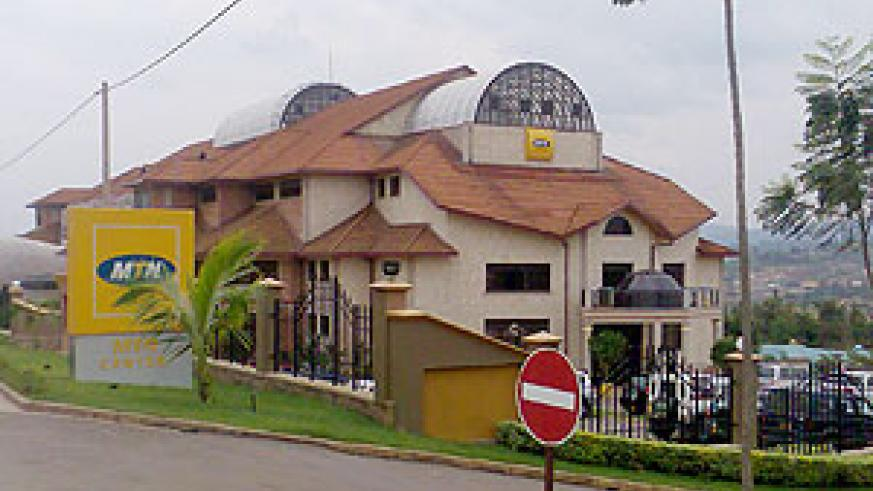 MTN Rwanda headquarters. A client was impressed by the service he was rendered.