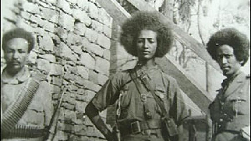 Ethiopian partisans resisted the Italian invasion.