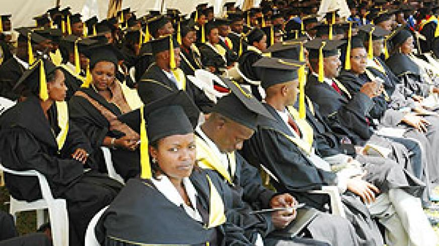 Graduating students. Students are expected to attend lessons before sitting exams