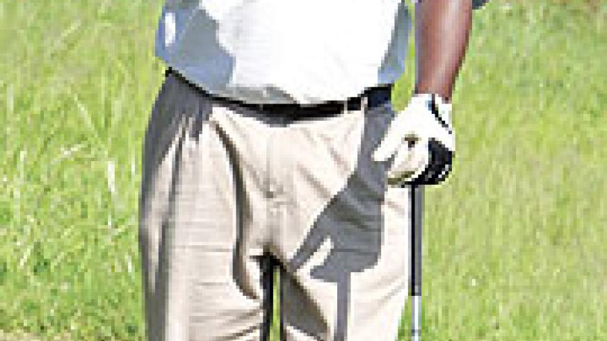 Kashaka has his eyes at winning what would be his second Rwanda Open title. (File Photo)