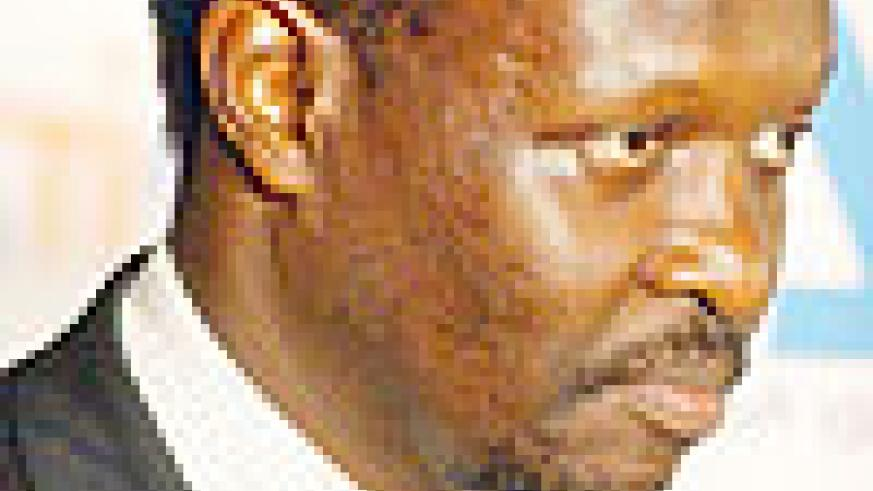 WANTS TOP SEAT: Bayigamba wants to become the next RNOC boss. (File photo)