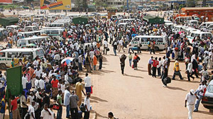 SET FOR REDEVELOPMENT: The city bus terminal at Nyabugogo is set to be redeveloped at a tune of Rwf2.5bn.