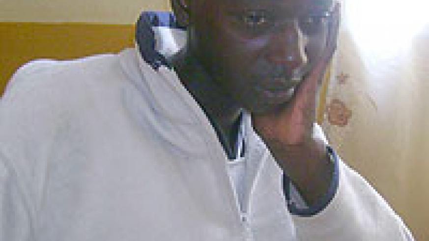 Mutuyimana ponders his next move.